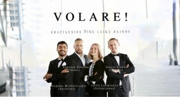 """(NUKELIAMAS) Koncertas """"Volare! Gražiausios visų laikų dainos"""" Šiauliuose"""
