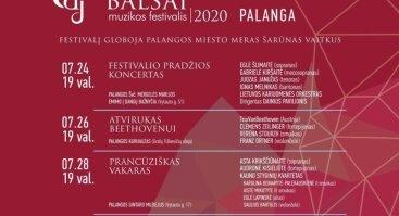 """Muzikos festivalis """"Pasaulio balsai 2020"""""""