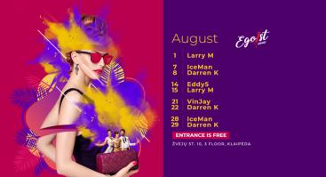 Friday with Dj IceMan | Egoist Lounge