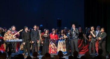 """Romų muzikos festivalis """"Tamburinas"""""""
