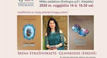Susitikimas su poete Irena Stražinskaite – Glinskiene (Eirene)