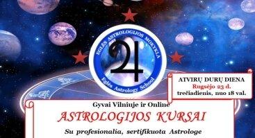 Eglės Astrologijos Mokykla-astrologinio 1 ir 2 kurso pristatymas