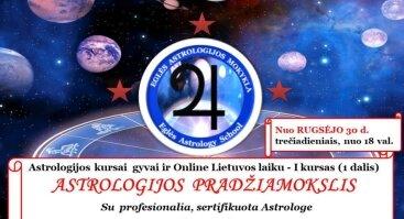 Astrologijos Pradžiamokslis. Praktikumas. - I kurso 1 dalis