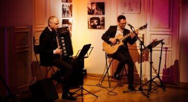 Prancūziškos Muzikos Vakaras terasoje