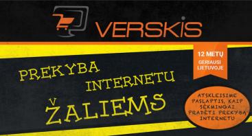 """Prekyba internetu """"Žaliems"""""""