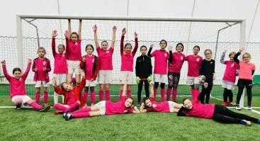 Atviros futbolo treniruotės 9-15 metų mergaitėms MFA Bitės akademijoje