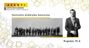 Festivalio AVANTI atidarymo koncertas