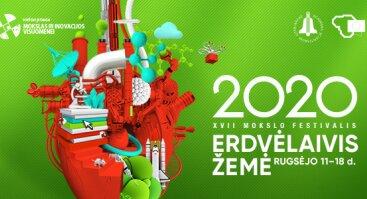 Mokslo festivalis Erdvėlaivis Žemė 2020