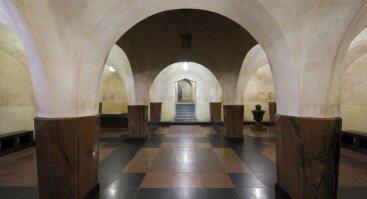 Pietūs muziejuje: ekskursija Vilniaus katedros požemiuose