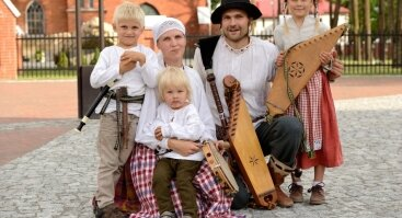 Etnokultūros dirbtuvės šeimoms