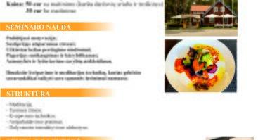 """Seminaras """"Stresas ir asmeninis efektyvumas"""" NIDOJE"""