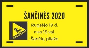 ŠANČINĖS 2020