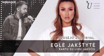 Eglės Jakštytės ir Lino Jakščio koncertas