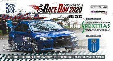 "VII Lietuvos STREETRACE čempionato etapas ""Race Day Druskininkai 2020"""