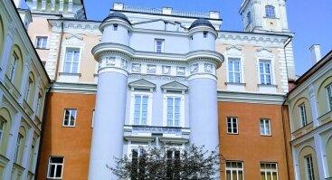 Nemokama ekskursija Vilniaus universiteto ansamblyje