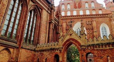 Nemokama ekskursija Bernardinų bažnyčioje ir vienuolyne. RUSŲ kalba!