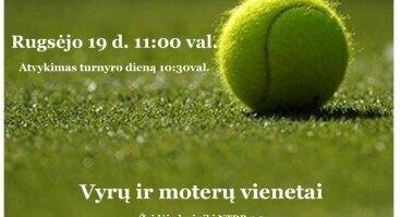 """Vienetų Teniso Turnyras """"Birštono Ruduo""""."""