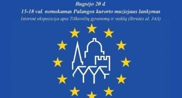 Europos paveldo dienos Palangoje