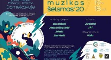 """Festivalis """"Jaunimo muzikos šėlsmas 20"""""""