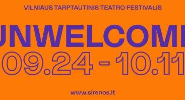 """Vilniaus tarptautinis teatro festivalis """"Sirenos'20"""""""