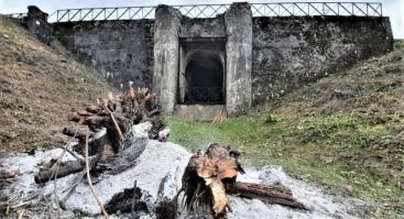 Paskutinė sezono ekskursija IV Forto viduje. Kauno tvirtovė.