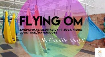 Kvėpavimas, meditacija ir NIDRA joga juostose/hamakuose ORE| @CamiYoga