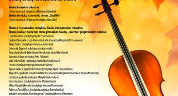 Muzikiniai rudenys 2020 | Šiauliai