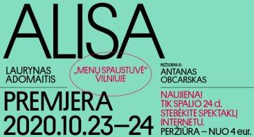 ALISA || Tiesioginė transliacija || Lietuvos nacionalinis dramos teatras
