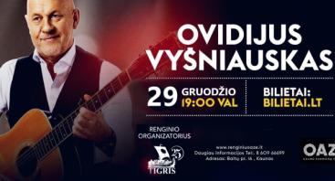 OVIDIJUS VYŠNIAUSKAS, Šlagerių koncertas