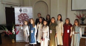 """Kaune vyko tarptautinis vaikų ir jaunimo folkloro festivalis """"Baltų raštai – 2020"""""""