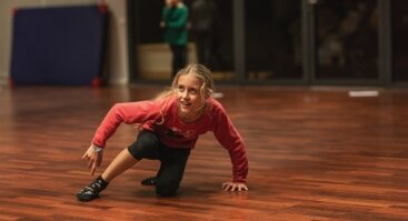 Šiuolaikinio šokio seminaras vaikams (9-13 m.)