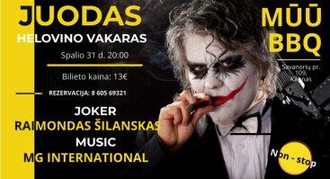Juodžiausio humoro Helovino naktis su R. Šilansku ir MG International | N-18 | Mūū BBQ