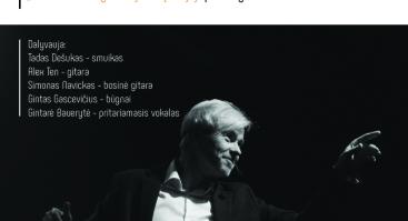 Andrius Kaniava. Ruduo nesibaigiančioj metų alėjoj. CD pristatymo koncertas.