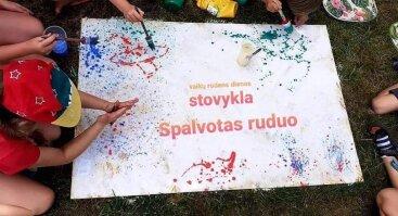 """Vaikų rudens dienos stovykla """"SPALVOTAS RUDUO"""""""