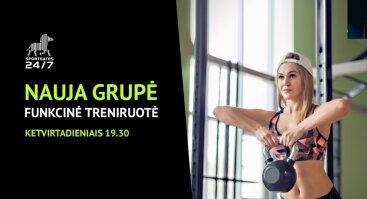 Nauja Funkcinės treniruotės grupė SportGates klube