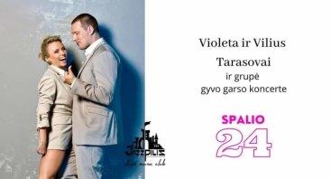Violeta ir Vilius Tarasovai / bare Jazzpilis