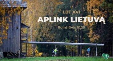 """Bėgimas """"aplink Lietuvą"""""""