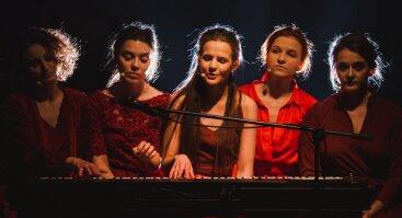 """""""Baltojo kaspino"""" festivalio atidarymas spektaklis- koncertas  """"GRAŽI IR TA GALINGA"""""""