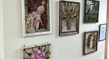 Floristinių – reljefinių paveikslų paroda