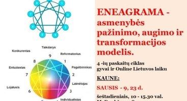 ENEAGRAMA - asmenybės pažinimo, augimo ir transformacijos modelis - Kaune