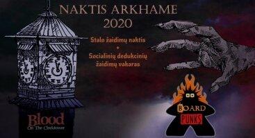 Naktis Arkhame 2020
