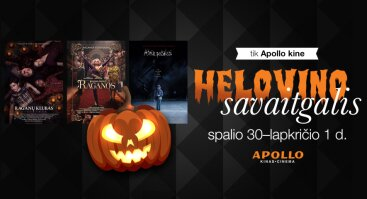 Helovino savaitgalis Apollo kine