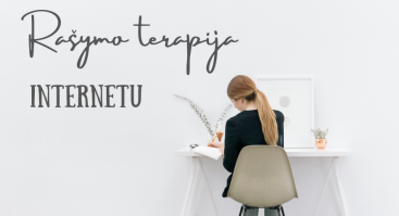 Rašymo terapija INTERNETU su psichologe Jovita Kieže