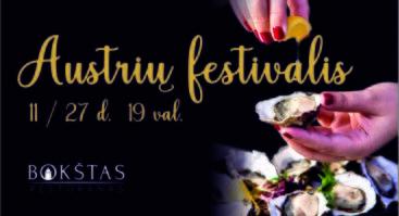 Austrių festivalis - Bokštas restorane!