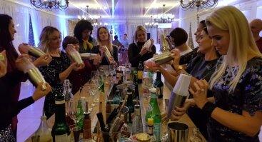 kokteilių gaminimo-degustavimo pramoga