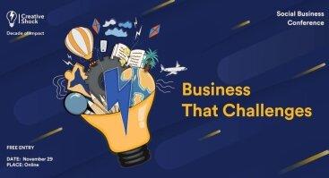 Creative Shock | Tarptautinė Socialinio Verslo Konferencija 2020