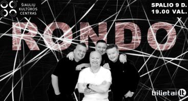"""""""Rondo"""" gyvo garso koncertas Šiauliuose"""