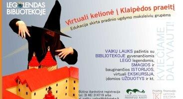 LEGOlendas ir virtuali kelionė į Klaipėdos praeitį