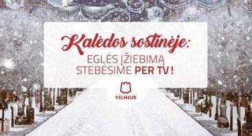 Vilniaus Kalėdų eglutės įžiebimas