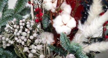 """""""Kalėdiniai akcentai"""" – Kalėdinių puokščių konkursas-paroda"""